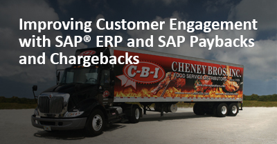 Improving Customer Engagement with SAP® ERP and SAP Paybacks and Chargebacks