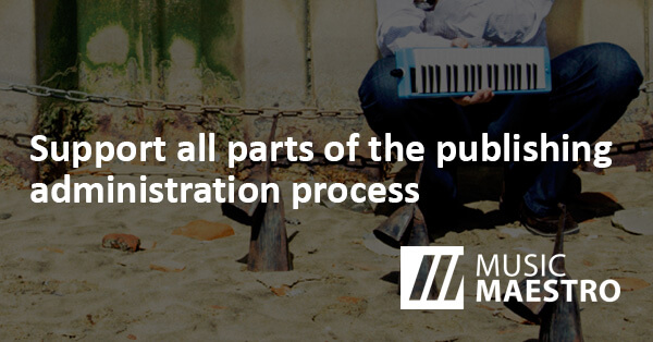 The Complete Royalty Administration Solution For Music Publishers