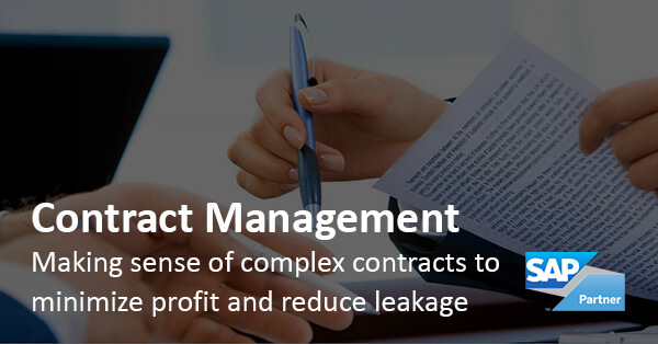 Solution Brochure: Solutions for SAP - Contract Management