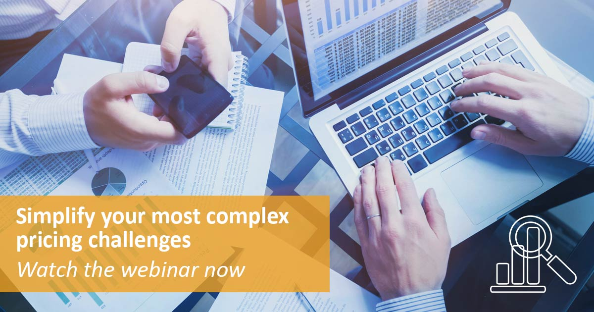 Simplify complex pricing challenges