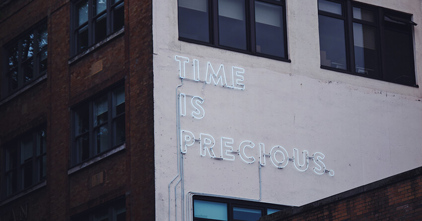 Time will become the currency