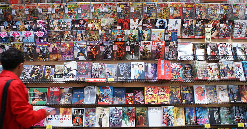 Comic-book industry taking rights exploitation to next level