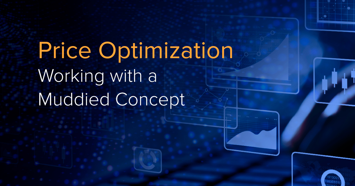 Price Optimization – Working with a Muddied Concept