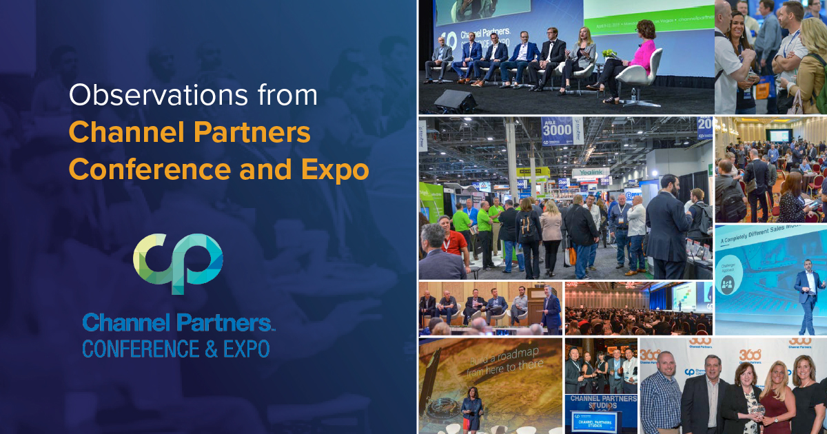 Observations from Channel Partners Conference and Expo