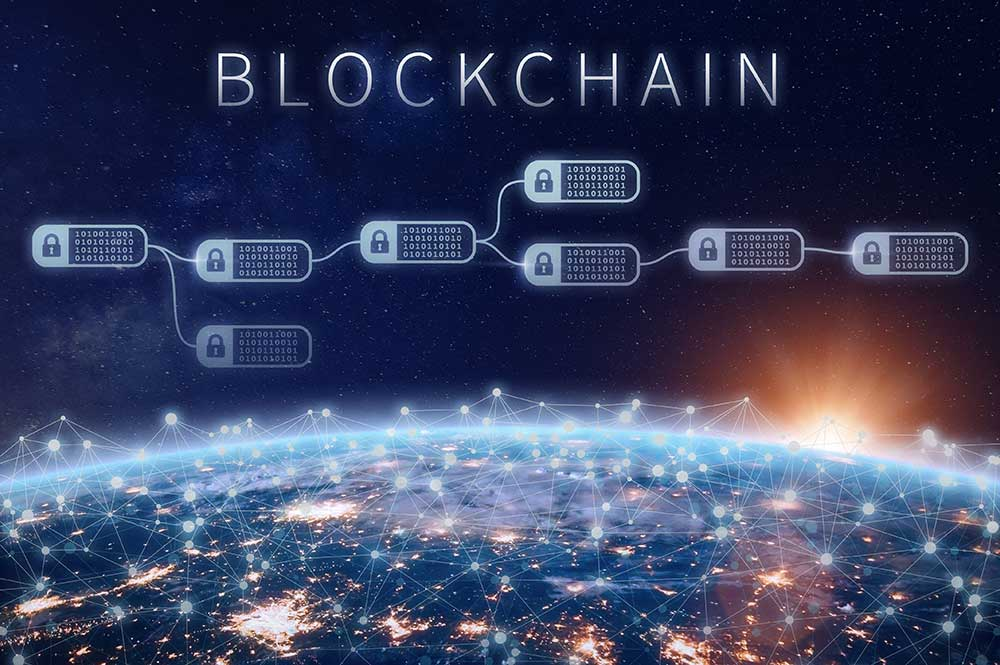 Blockchain technology tracking rights and royalties ownership