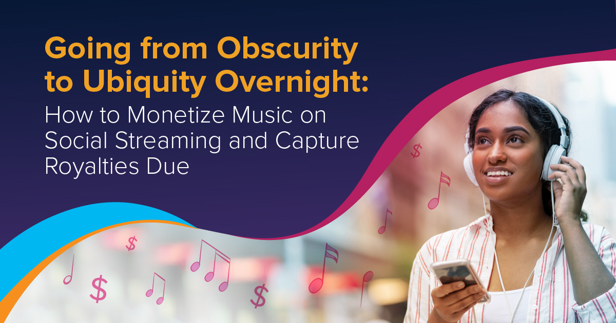 How to Add Up Royalties Due and Monetize Music from Social Streaming