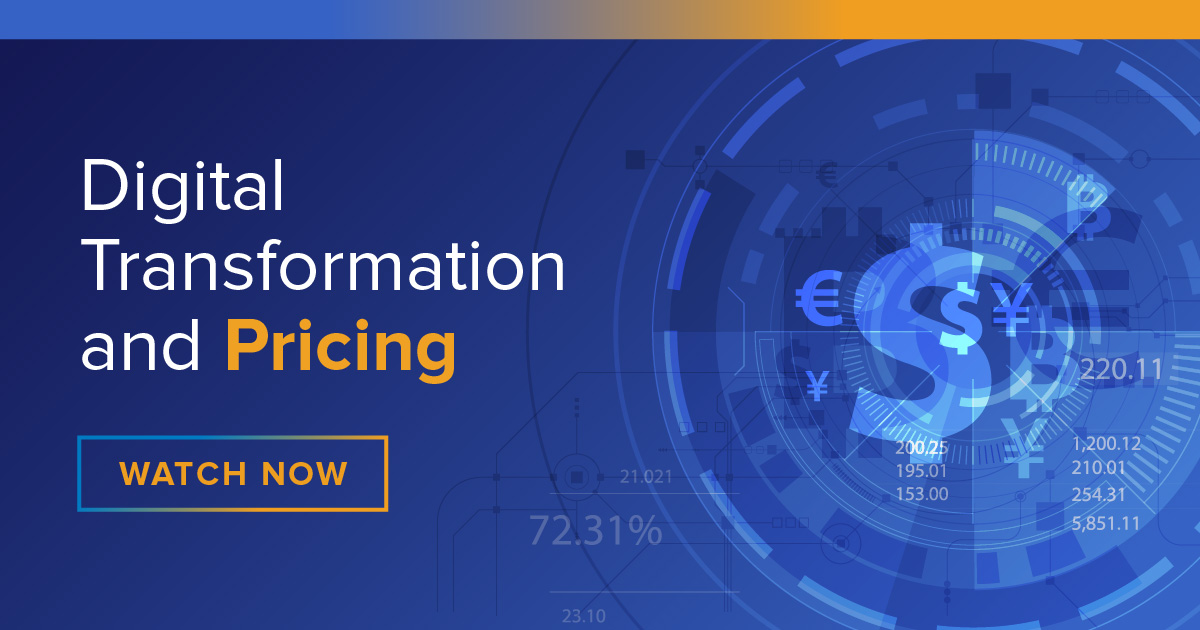 Digital Transformation and Pricing
