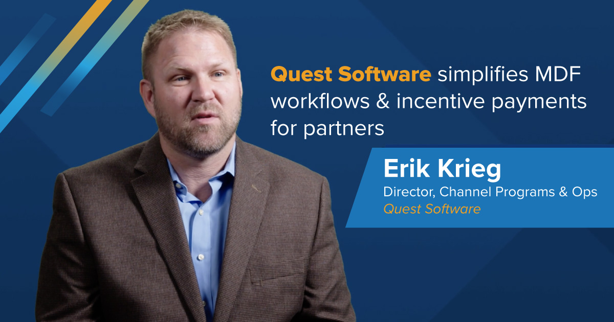 Quest Software simplifies MDF workflows & incentive payments for partners