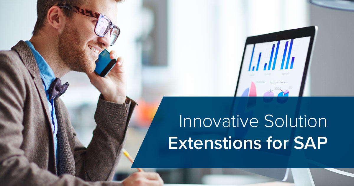 Innovative solution extensions for SAP