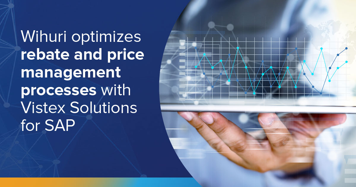 Wihuri optimizes rebate and price management processes with Vistex Solutions for SAP