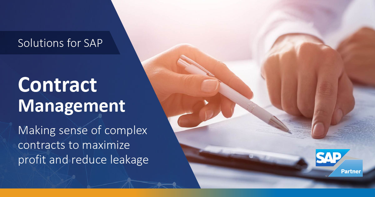 SAP Contract Management