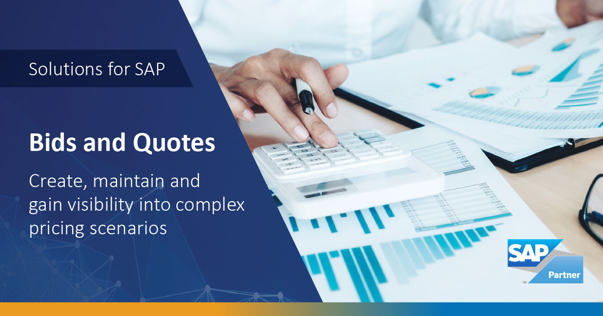 SAP Bids and Quotes