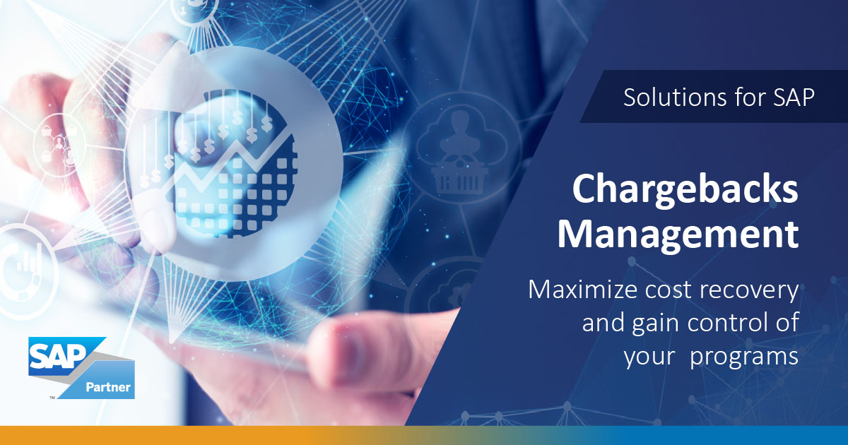 Chargebacks Management: Maximize cost recovery and gain control of your programs