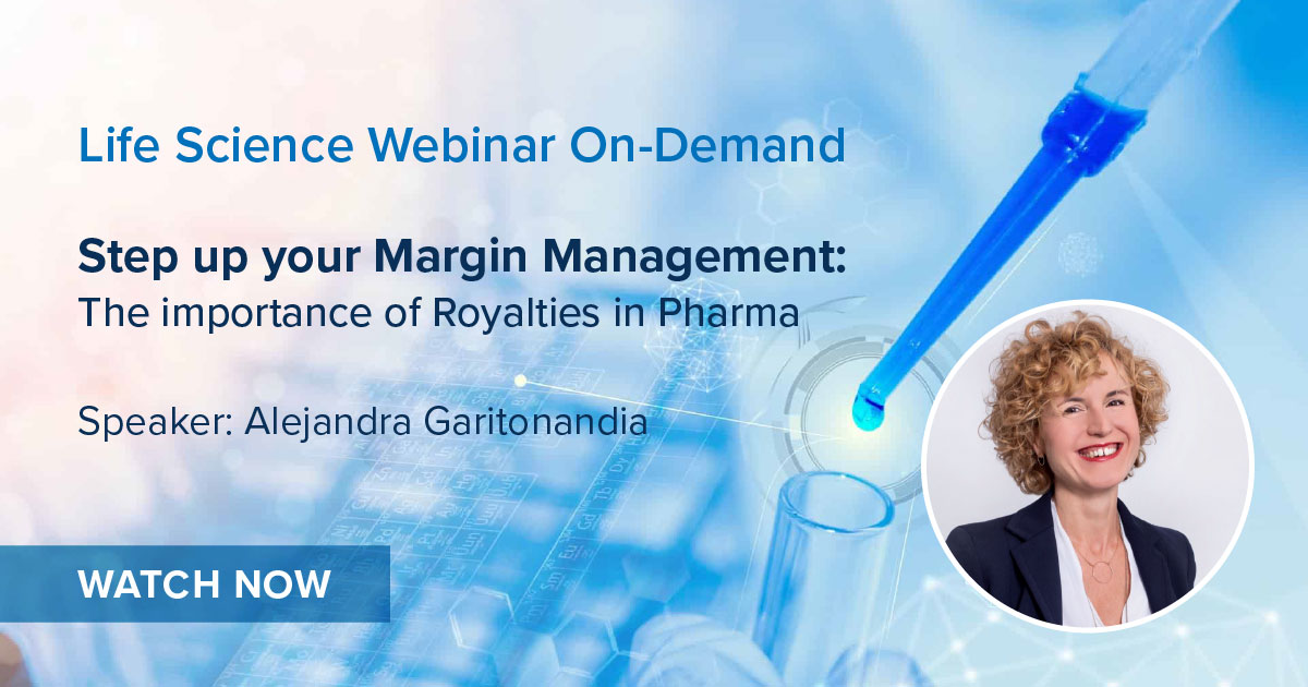 Step Up your Margin Management: The importance of Royalties in Pharma
