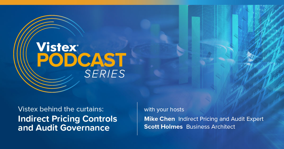 Indirect Pricing Controls and Audit Governance