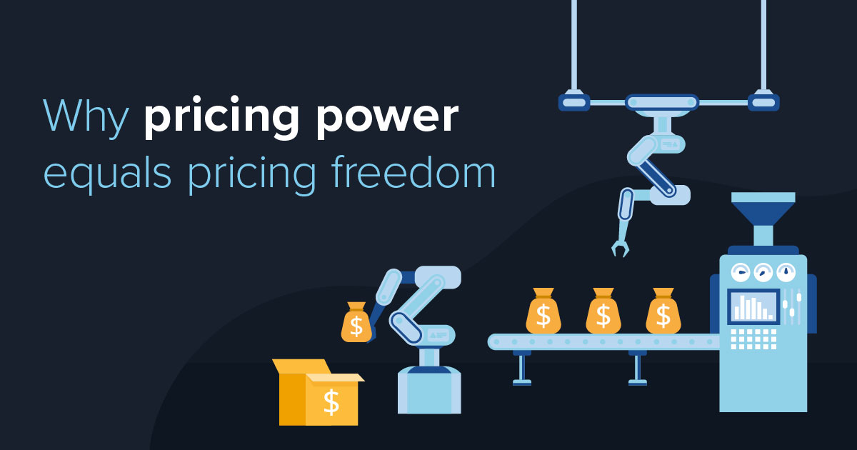 Why pricing power equals pricing freedom