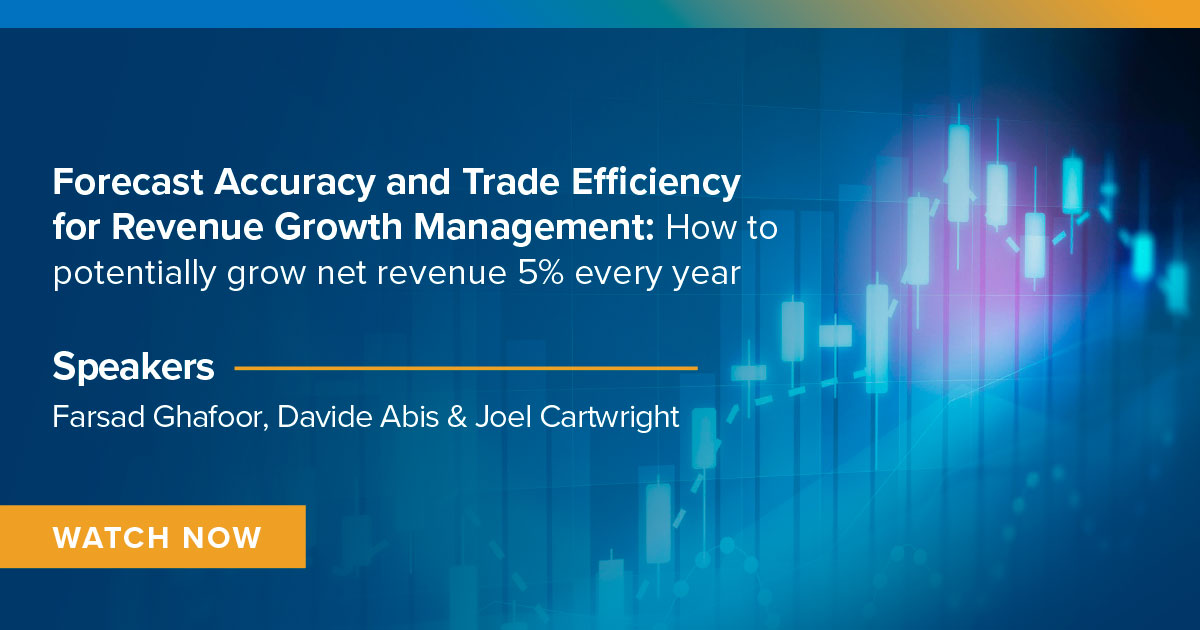 Forecast Accuracy and Trade Efficiency for Revenue Growth Management: How to potentially grow net revenue of 5% every year