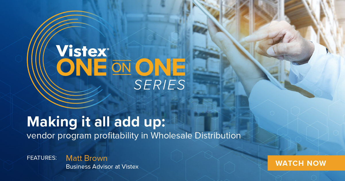 Making it all add up: vendor program profitability in Wholesale Distribution