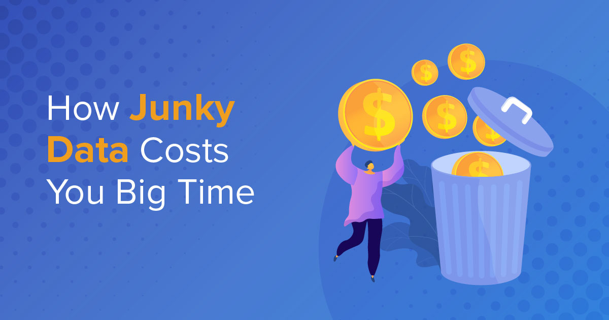 How Junky Data Costs You Big Time