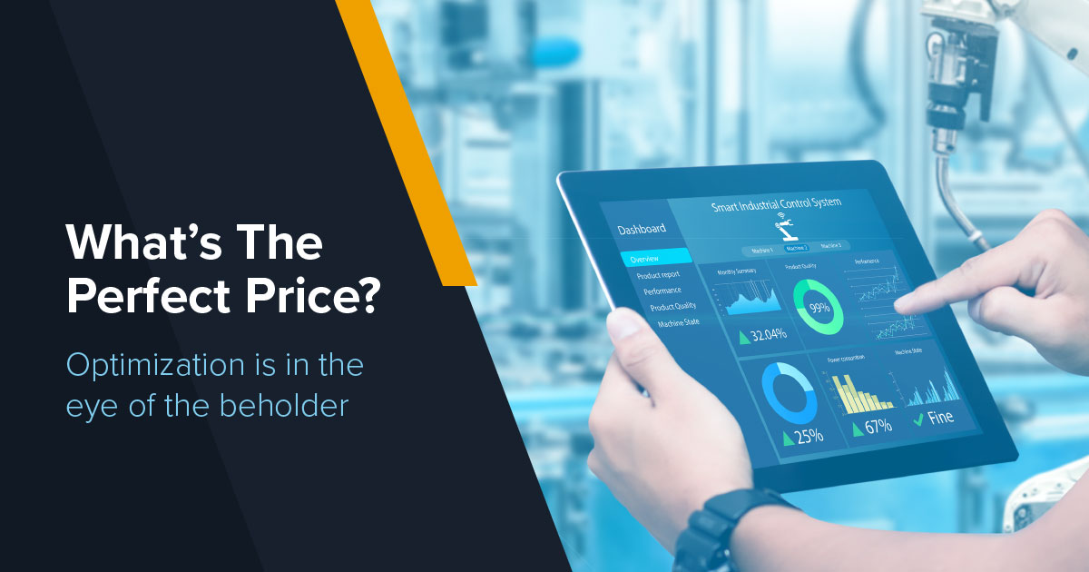 What's The Perfect Price? The Process of Price Optimization