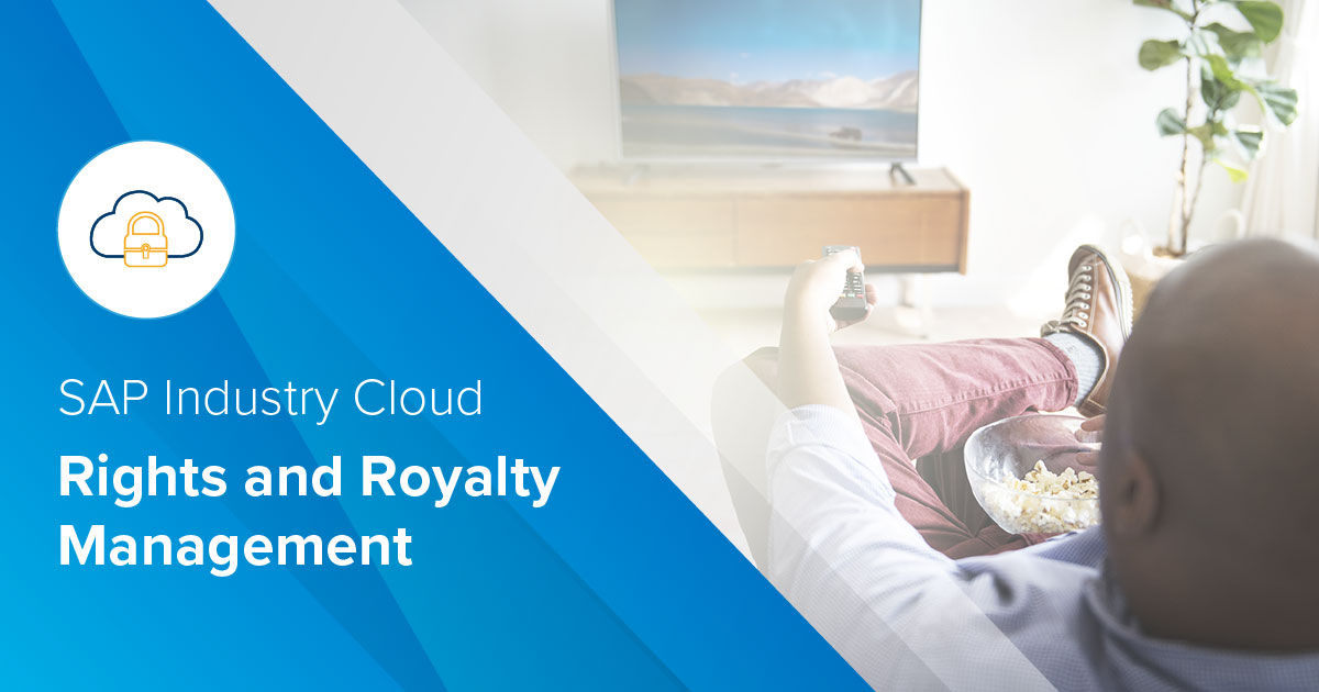 SAP Industry Cloud - Rights and Royalty Management - Brochure