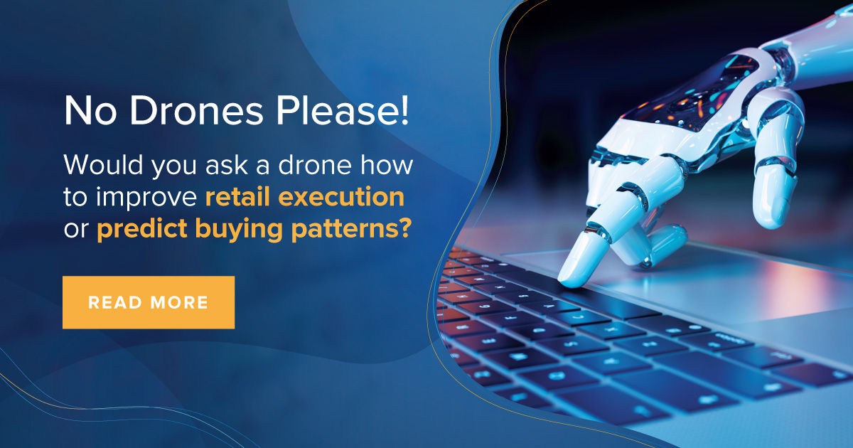 Using Drones To Improve Retail Execution and Predict Buying Patterns