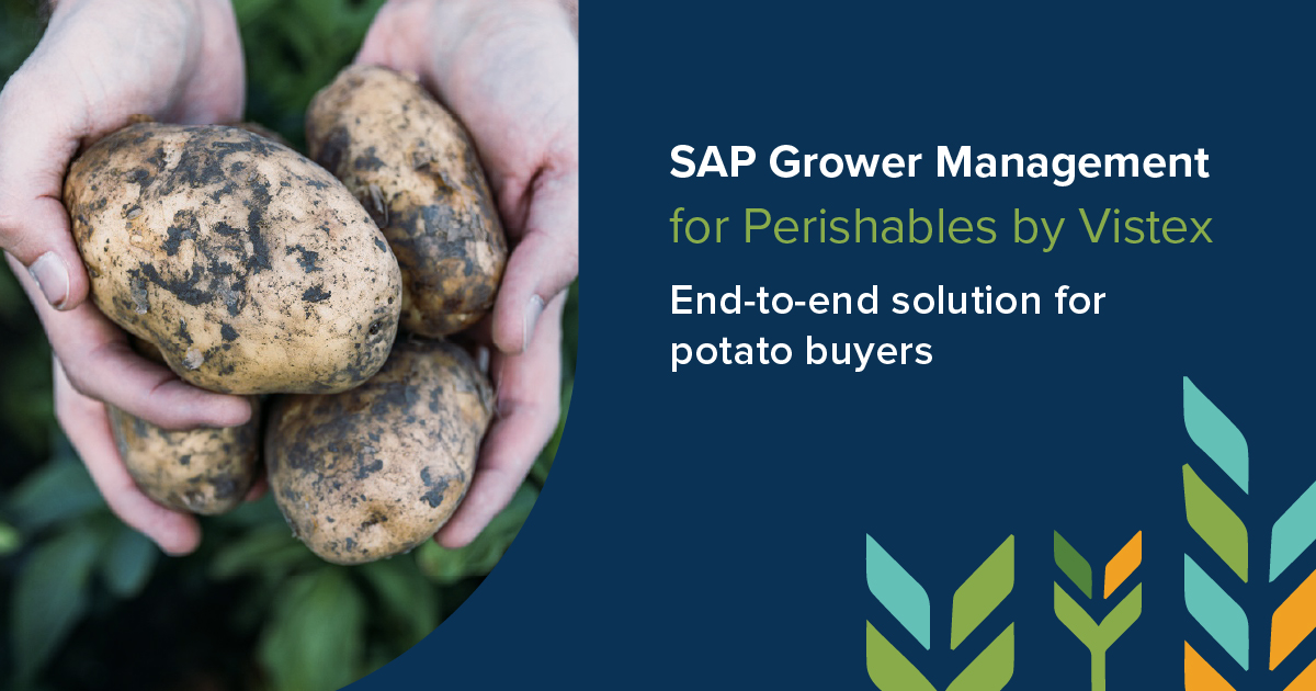 End-to-end solution for potato buyers